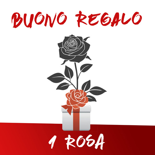 Buono Regalo 1 rosa