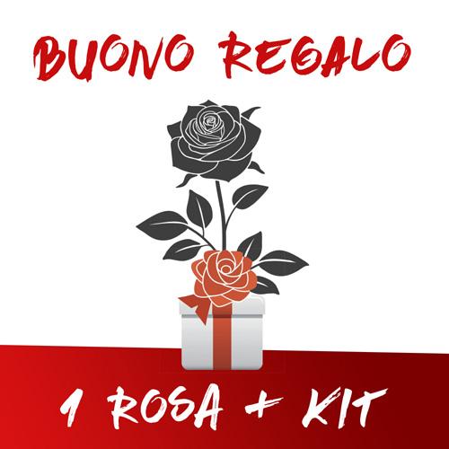 Buono regalo 1 Rosa kit