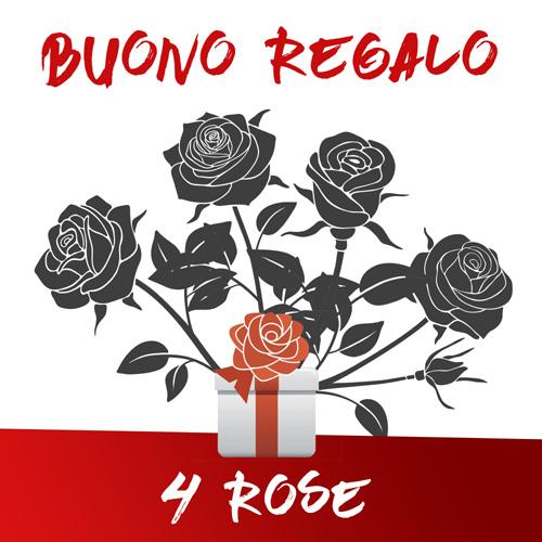 Buono regalo 4 Rose