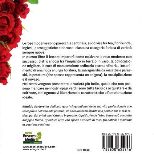 Libro Rose Moderne II Copertina